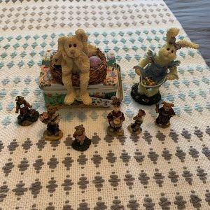 8 Boyd's Bears Collectables